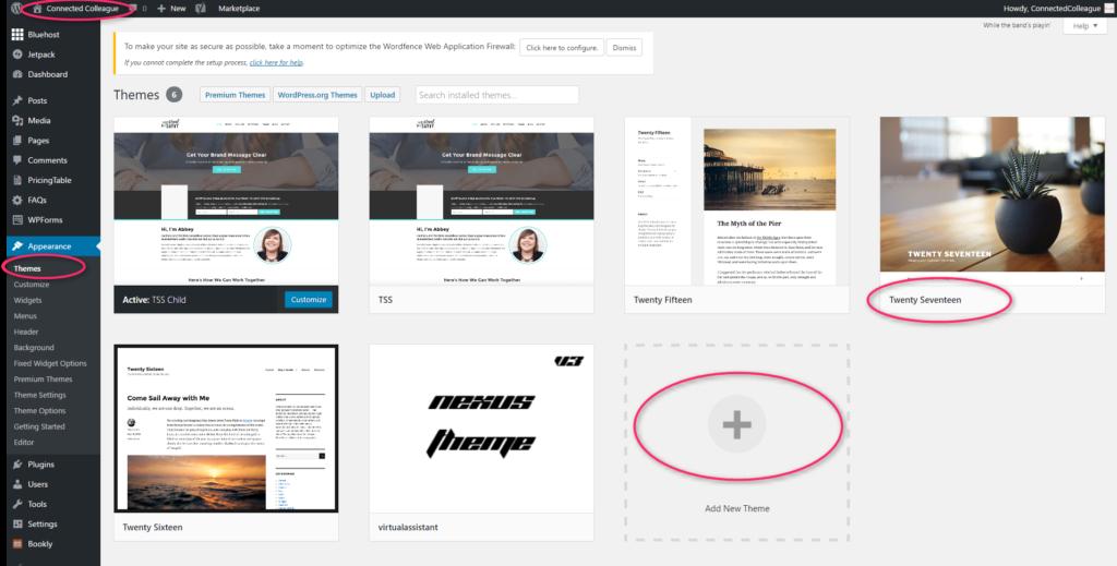 Wordpress Blog: WordPress Theme Menu