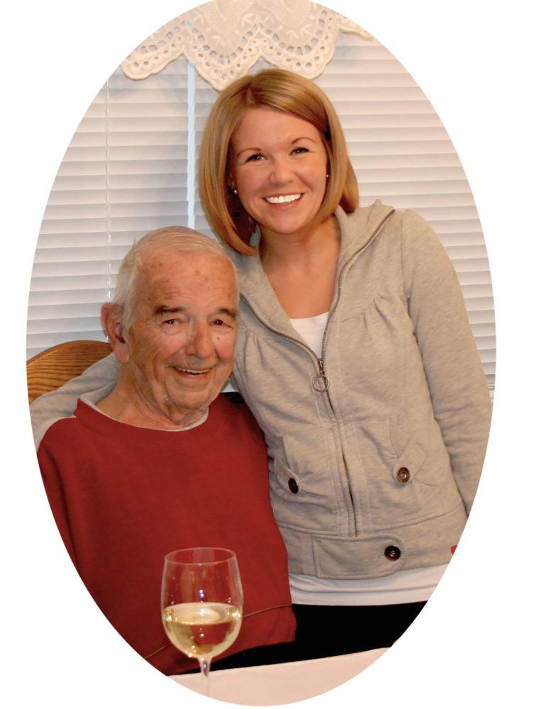 Tasha and Grandpa