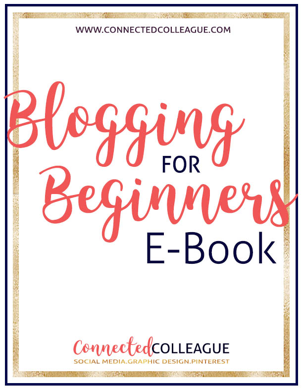 Blogging for Beginners - free eBook on how to start a blog