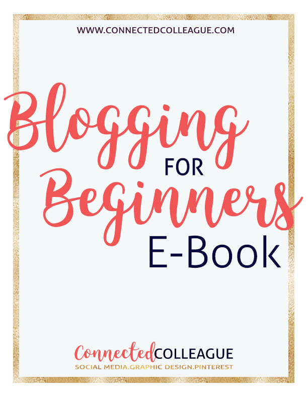 Everything your to need to know for blogging for beginners.