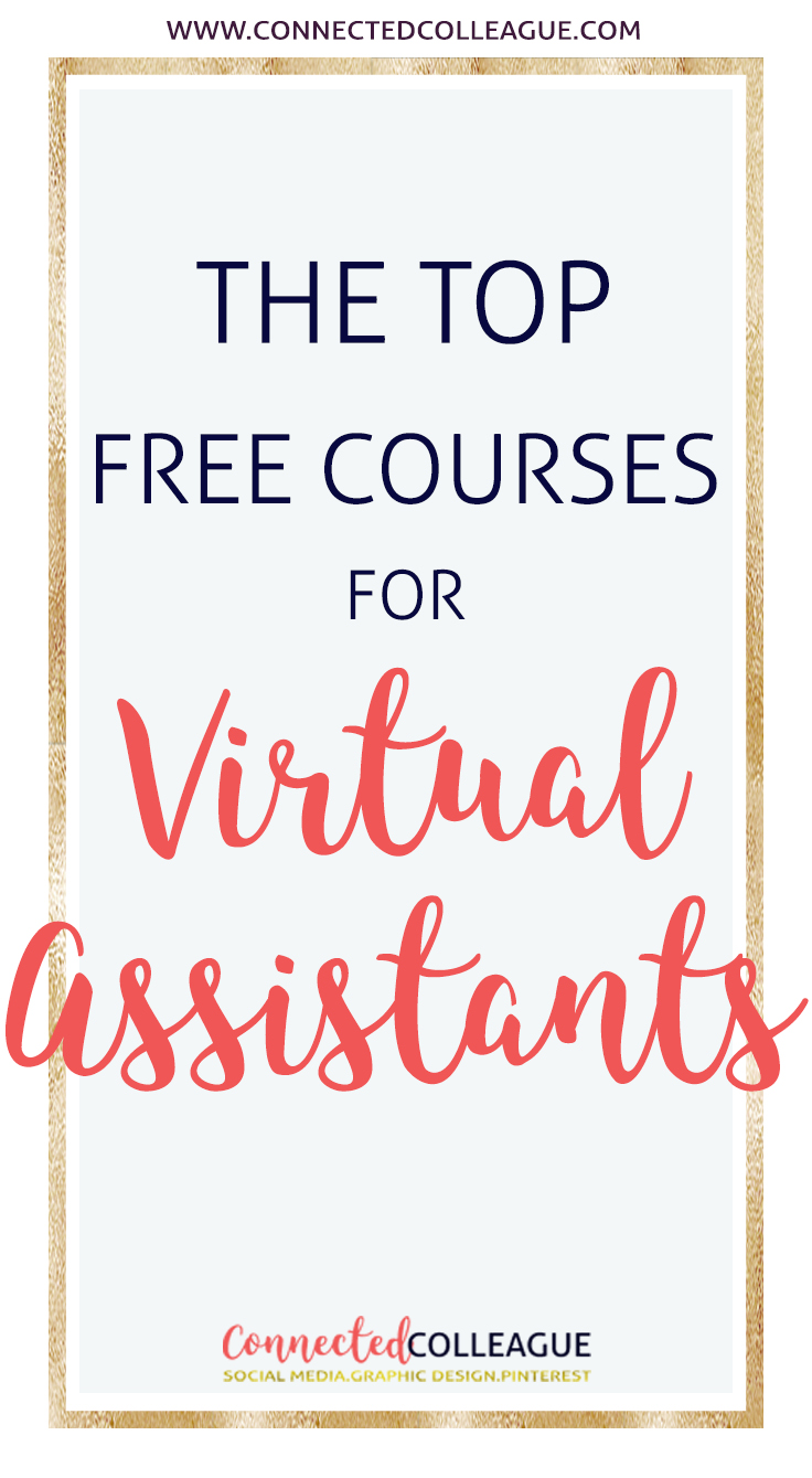 The Top Free Courses for Virtual Assistants