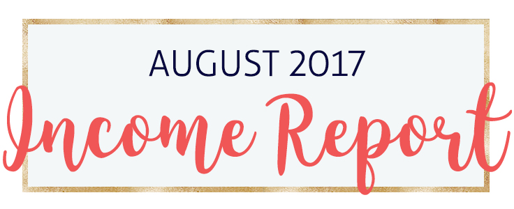 My August 2017 Income Report as a Virtual Assistant and Blogger