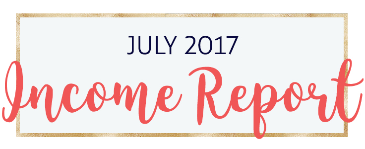 My July 2017 Income Report as a Virtual Assistant and Blogger