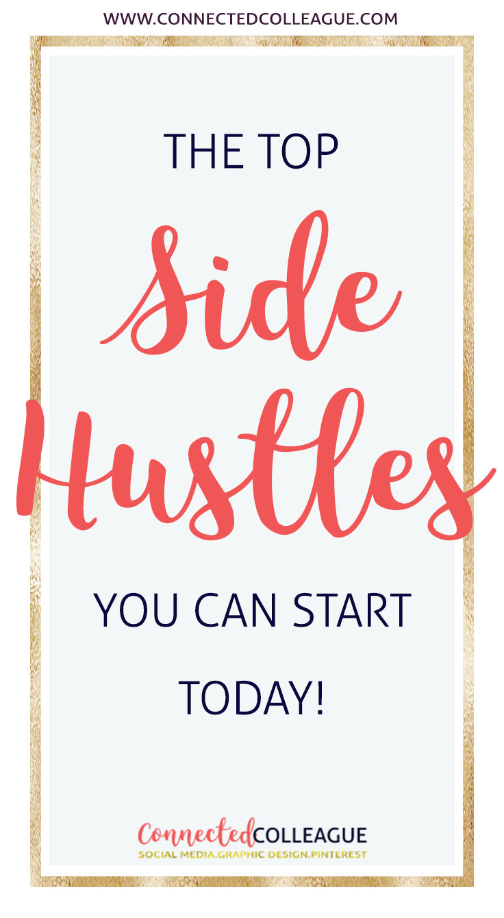 Start making money with a side hustle today!
