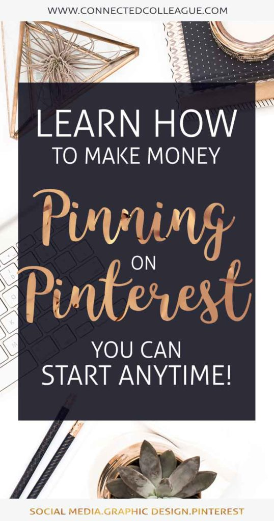 Learn how to make money pinning on Pinterest with Affiliate Marketing