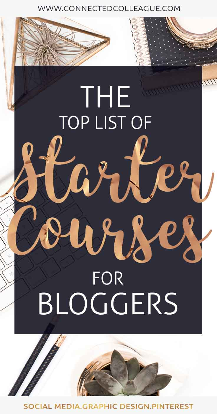 The Top Free and Paid Courses for Professional Bloggers