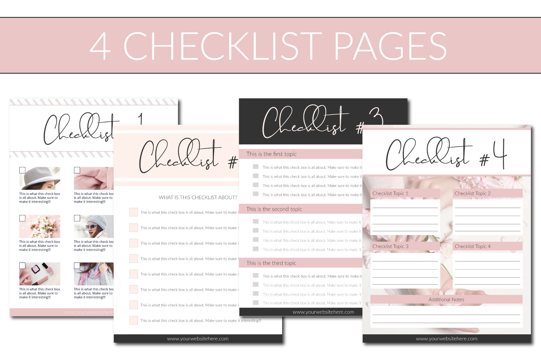 Opt-in Freebie Templates - Blush - Special Offer