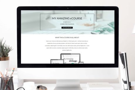 Opt in freebie landing page templates turquoise connected colleague maxwellsz